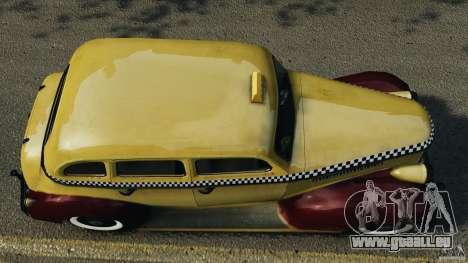 Shubert Taxi für GTA 4 rechte Ansicht