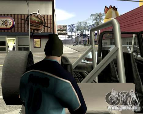 Capot du système pour GTA San Andreas douzième écran