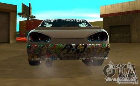 Elegy Drift Masters Final für GTA San Andreas zurück linke Ansicht