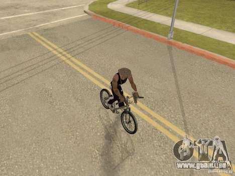 Masquer-get armes dans la voiture pour GTA San Andreas troisième écran
