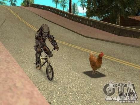 Patrouille de poulet pour GTA San Andreas troisième écran