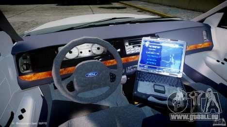 Ford Crown Victoria NYPD pour GTA 4 Vue arrière