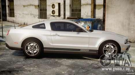 Ford Mustang V6 2010 Premium v1.0 pour GTA 4 est un côté