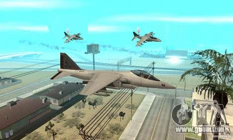 Guerre aérienne pour GTA San Andreas deuxième écran
