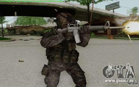 M16A2 pour GTA San Andreas quatrième écran