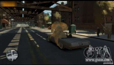 Elefant für GTA 4 Sekunden Bildschirm