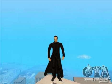 Matrix Skin Pack für GTA San Andreas