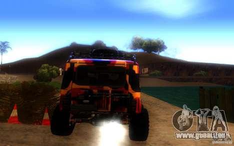 UAZ 4x4 pour GTA San Andreas vue de droite