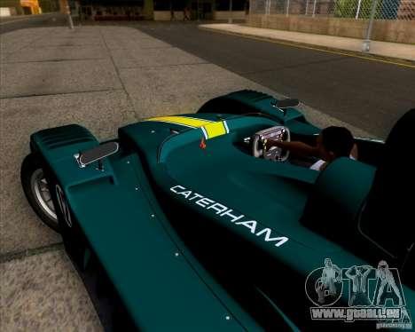 Caterham Lola SP300R pour GTA San Andreas vue arrière