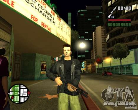 Claude Speed beta4 pour GTA San Andreas