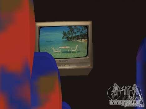 Marcopolo Paradiso 1800 G6 8x2 SCANIA pour GTA San Andreas vue de dessus