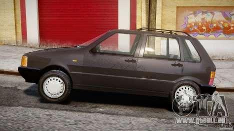 Fiat Uno 70SX 1989-1993 für GTA 4 Innenansicht
