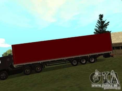 Nefaz 93344 rouge pour GTA San Andreas laissé vue