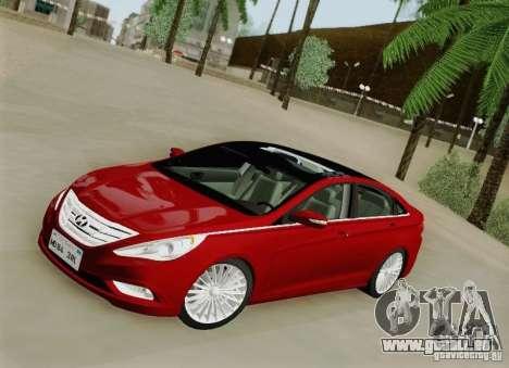 Hyundai Sonata 2012 pour GTA San Andreas vue de côté