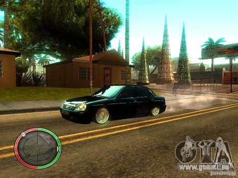 Lada Priora Dag Style pour GTA San Andreas
