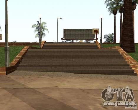 Texture de la Cour de basket-ball pour GTA San Andreas quatrième écran