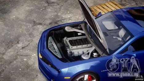 Chevrolet Camaro v1.0 pour GTA 4 est un droit