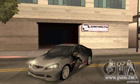 Acura RSX New für GTA San Andreas obere Ansicht