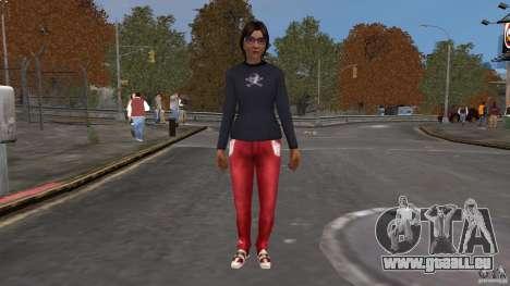 Player Selector pour GTA 4 troisième écran