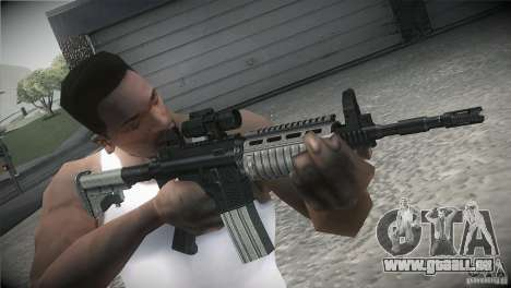 Weapon Pack by GVC Team pour GTA San Andreas