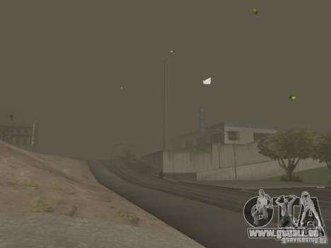 Weather manager pour GTA San Andreas neuvième écran