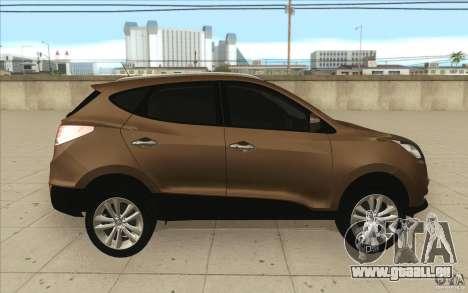 Hyundai ix35 für GTA San Andreas obere Ansicht