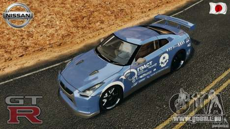 Nissan GT-R 35 rEACT v1.0 pour GTA 4 Salon