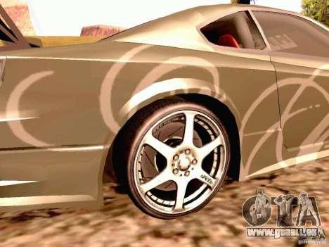Nissan Silvia S15 By Blaze pour GTA San Andreas sur la vue arrière gauche