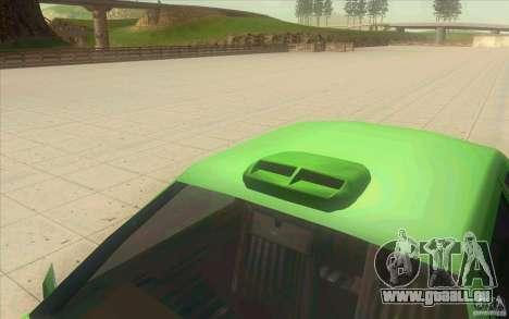 Mad Drivers New Tuning Parts pour GTA San Andreas cinquième écran