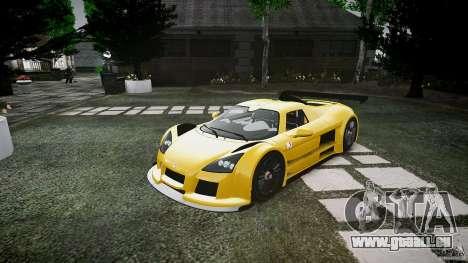 Gumpert Apollo Sport v1 2010 pour GTA 4 est une gauche