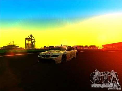 BMW M3 GT ALMS GT2 Series für GTA San Andreas Innenansicht