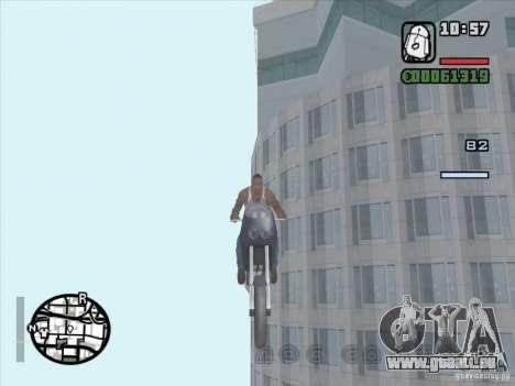 Arrêter le temps pour GTA San Andreas deuxième écran
