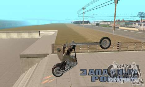 Desperado Chopper pour GTA San Andreas vue de droite