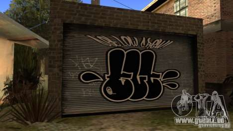 Neue Startseite CJ (neue Cj Haus GLC Prod v1. 1) für GTA San Andreas her Screenshot