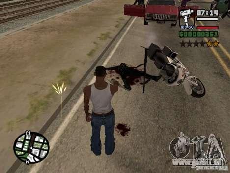 Neues Muster des Blutes für GTA San Andreas dritten Screenshot