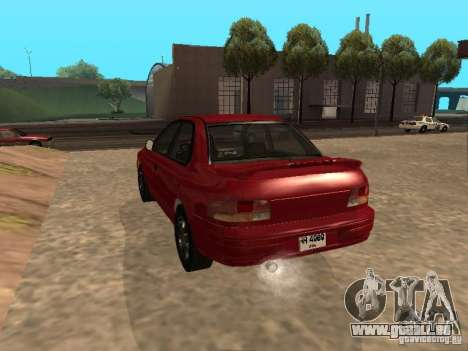 Subaru Impreza WRX STI 1995 pour GTA San Andreas laissé vue