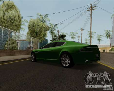 Aston Martin Rapide 2010 V1.0 für GTA San Andreas rechten Ansicht
