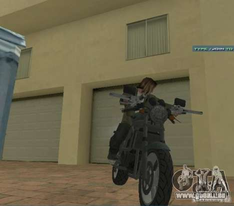 PCJ-600 in GTA IV für GTA San Andreas rechten Ansicht