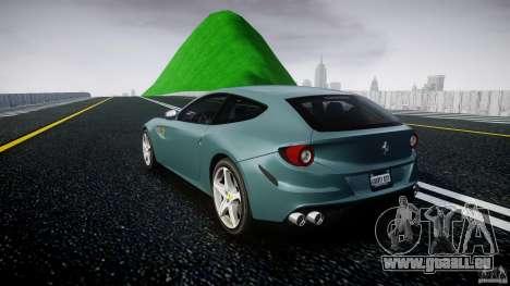 Ferrari FF 2012 pour GTA 4 Vue arrière de la gauche