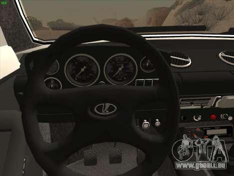 VAZ 2121 Niva pour GTA San Andreas vue arrière