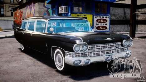 Cadillac Miller-Meteor Hearse 1959 pour GTA 4 est un droit