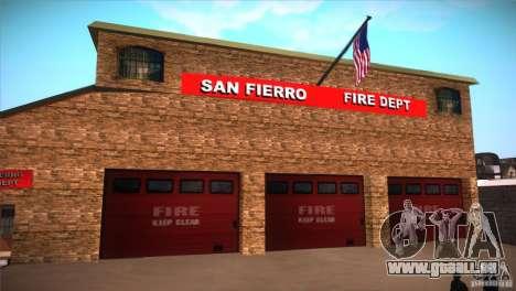 San Fierro Upgrade pour GTA San Andreas sixième écran