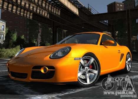 Porsche Cayman S1 pour GTA 4 est une gauche