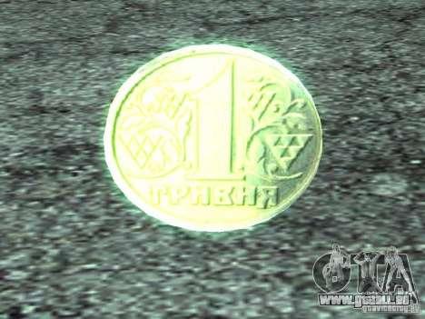 1 hryvnia pour GTA San Andreas