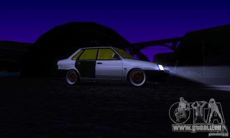 Look Rat 21099 VAZ pour GTA San Andreas vue de côté