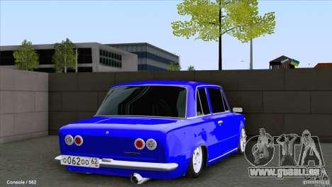 VAZ 2101 Coupe Loui für GTA San Andreas zurück linke Ansicht