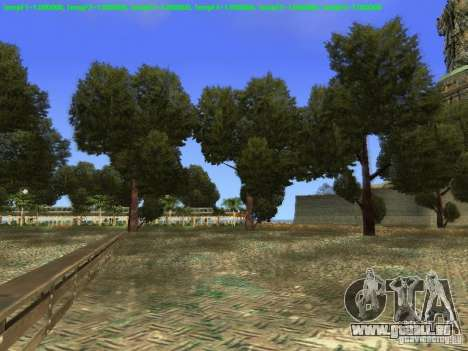 Statue de la liberté 2013 pour GTA San Andreas cinquième écran