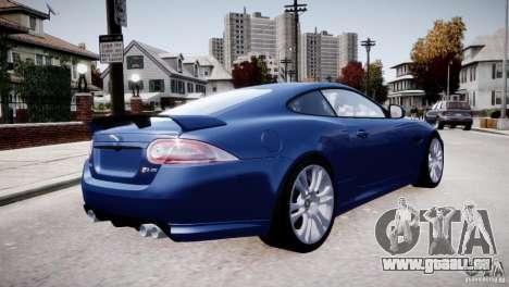 Jaguar XKR-S 2012 pour GTA 4 est une vue de dessous