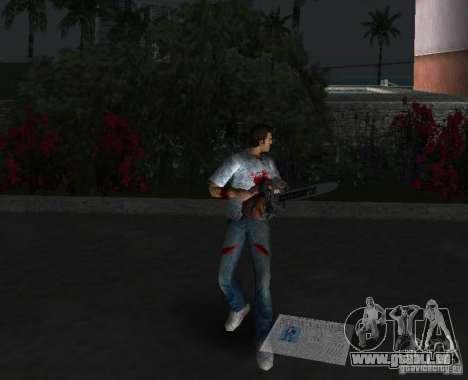 Scie à chaîne pour GTA Vice City cinquième écran