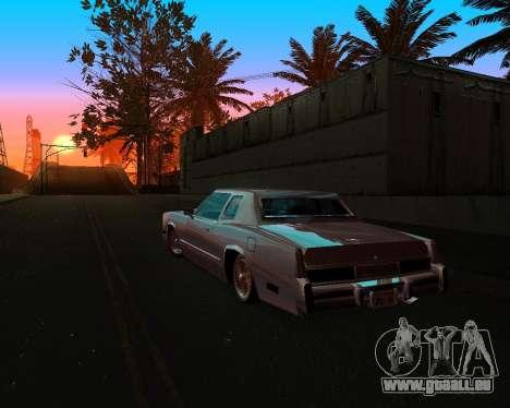 Cadillac Eldorado für GTA San Andreas obere Ansicht